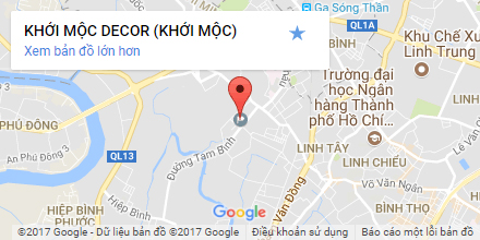 maps google khoi moc decor